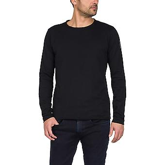 Replay Men's langärmelige Rohschnitt T-Shirt
