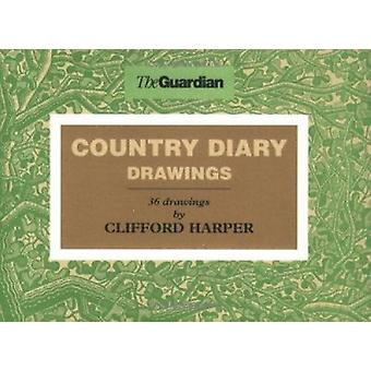 Country Diary Drawings by Clifford Harper - 9781904596004 Book