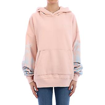 Amiri Y0w02435tesal Women's Pink Cotton Sweatshirt