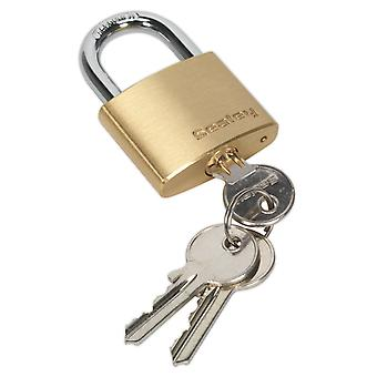 Sealey Pl101 Brass Body Padlock 40Mm