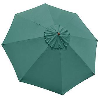 10' Umbrella Replacement Cover Top 8 Rib Deck Outdoor Canopy Garden Beach Patio Pool Color Optional