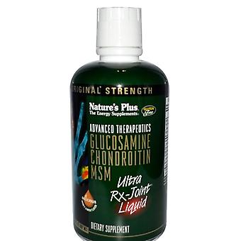 Avancerad Therapeutics - Glukosamin Kondroitin MSM - Ultra Rx- Honung Citron Flavor (887 ml) - Nature' s Plus