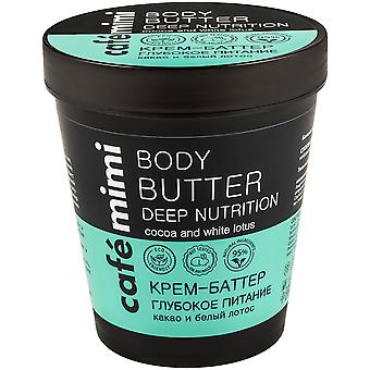Cafe Mimi Body Butter Deep Nutrition 220 ml