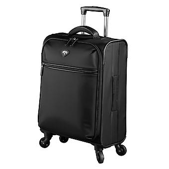 JUMP Nice Soft Hand Luggage Trolley S, 4 Wheels, 55 cm, 33 L, Black