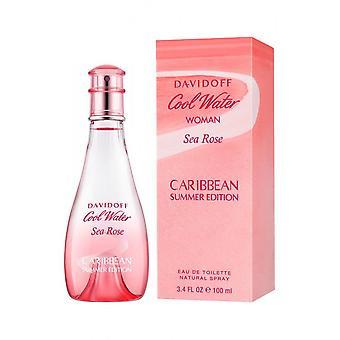 Davidoff - Cool Water Sea Rose Caribbean Summer Edition - Eau De Toilette - 100ML