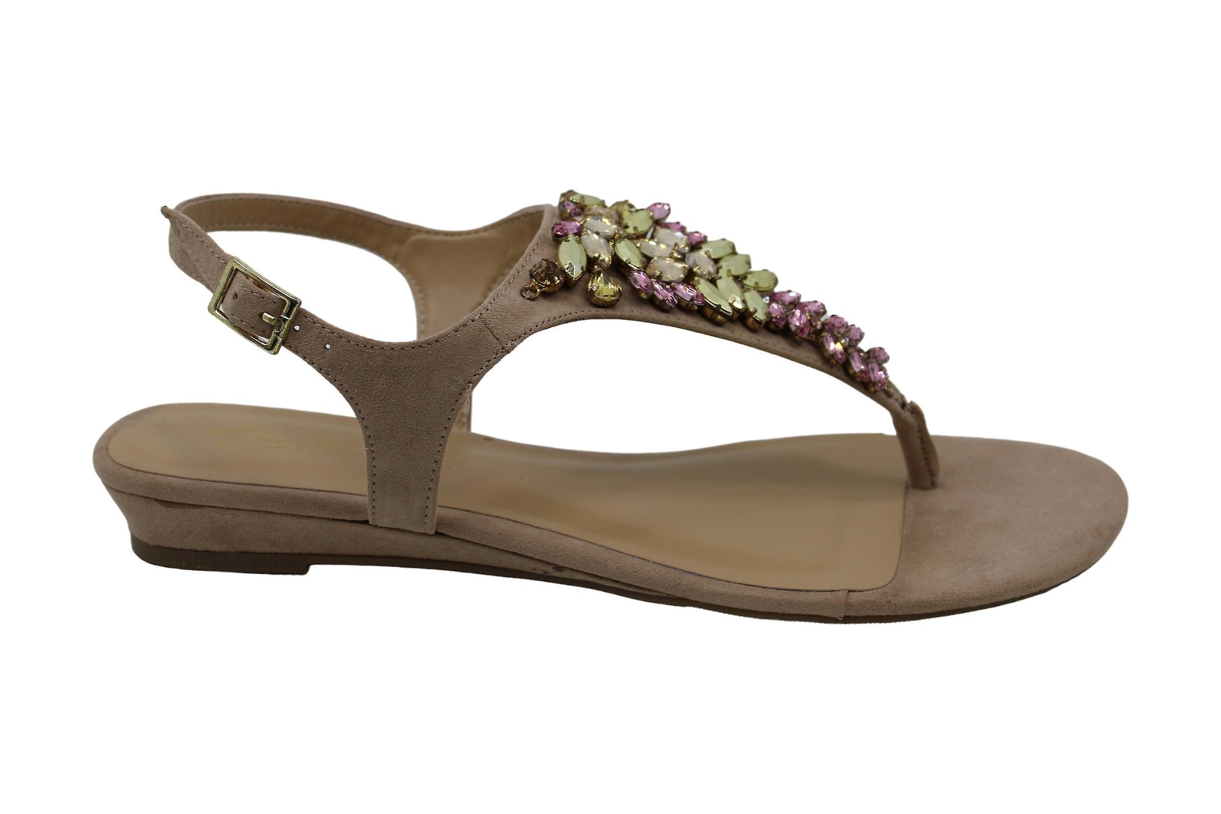 Thalia Sodi Womens FUERTO Split Toe Casual Gladiator Sandals E86sw