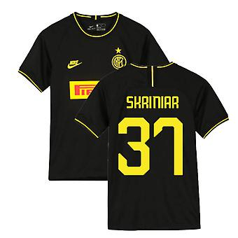 2019-2020 Inter Milan 3rd Nike Football Shirt (Kids) (SKRINIAR 37)