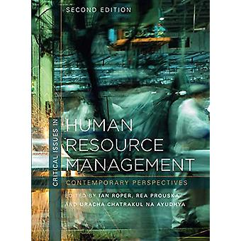 Critical Issues in Human Resource Management - Contemporary Perspectiv