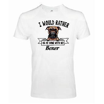Boxer Kikande Hund T-shirt - Eher mit...