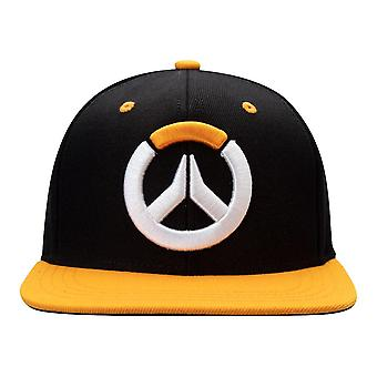 Overwatch, SnapBack-logo, zwart/oranje