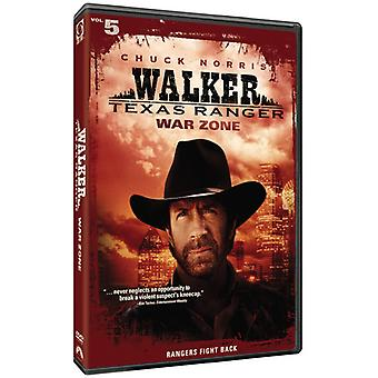 Walker Texas Ranger: Krig zon [DVD] USA import