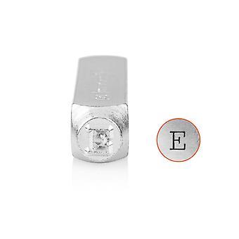 Impressionart Machine à écrire Timbre Majuscules 'E-apos; 10mm