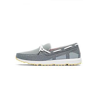 Swims grijs & witte Breeze Leap Laser loafer