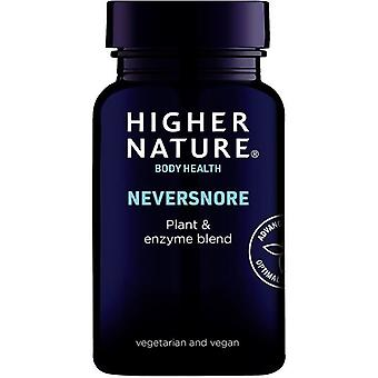 Higher Nature NeverSnore Vegetarian Tablets 30 (NSN030)