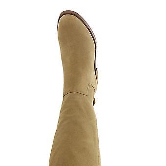 Franco Sarto Capitol Wide Calf Women's Boot 7 B(M) US Sandstone