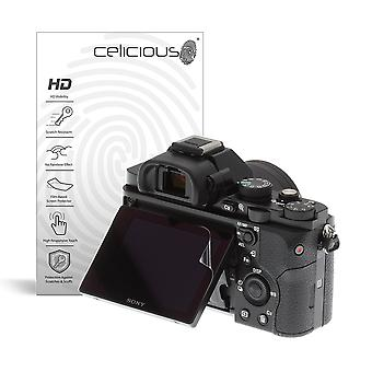 Celicious Vivid Invisible Glossy HD Screen Protector Film Compatible with Sony A7 [Pack of 2]