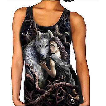Wild star - soul bond vest top for women by anne stokes