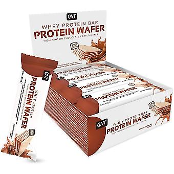 QNT Nutrition Protein Wafer Bar Belgian Chocolate 12 x 35 gr