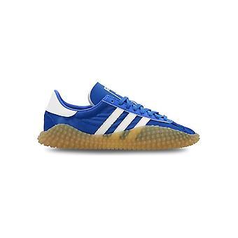 Adidas - Sapatos - Tênis - EE5666_CountryxKamanda - Homens - azul,branco - Reino Unido 6.0