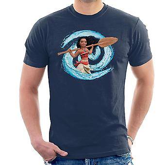 Disney Moana Spiral Wave Men's Camiseta