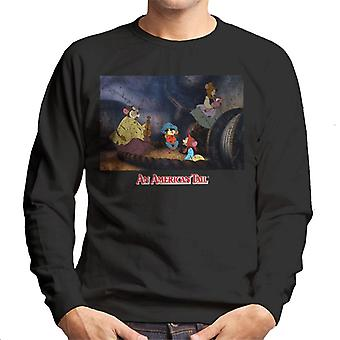 An American Tail Fievel And Family Men's Sweatshirt