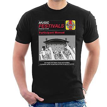 Haynes Music Festivals Participante Manual Men's Camiseta