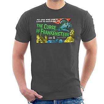 Hammer skräckfilmer förbannelse Frankenstein kedjade hand män ' s T-shirt