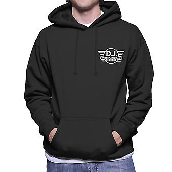 DJ International Records Classic Logo Men's Hooded Sweatshirt