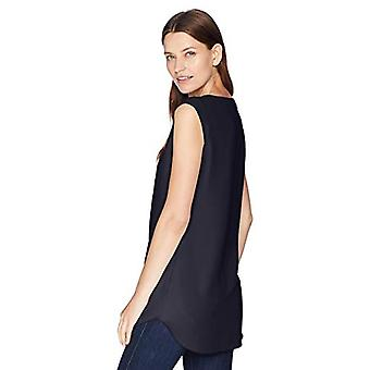 Brand - Daily Ritual Kvinnor's Muscle Tee Shell, marin, 12