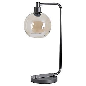 Hill Interiors industriële metalen bureau lamp