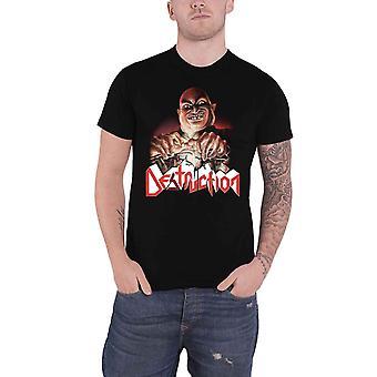 Destruction T Shirt Live Without Sense Band Logo nouveau Officiel Mens Black