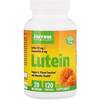 Fórmulas De Jarrow, Luteína, 20 mg, 120 Softgels