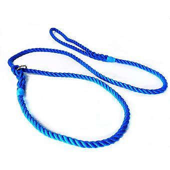 Kjk Ropeworks Tout-en-un Slip Lead (12mm x 120cm) - Bleu