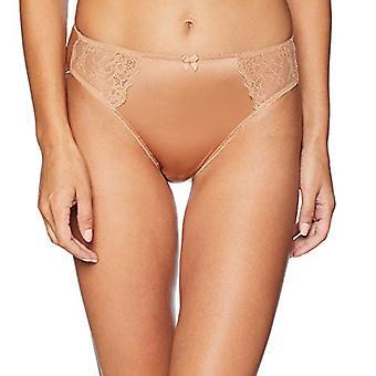 Marke - Arabella Frauen's Standard Hi Leg Lace Detail Höschen, 3 Ersatz, Bl...