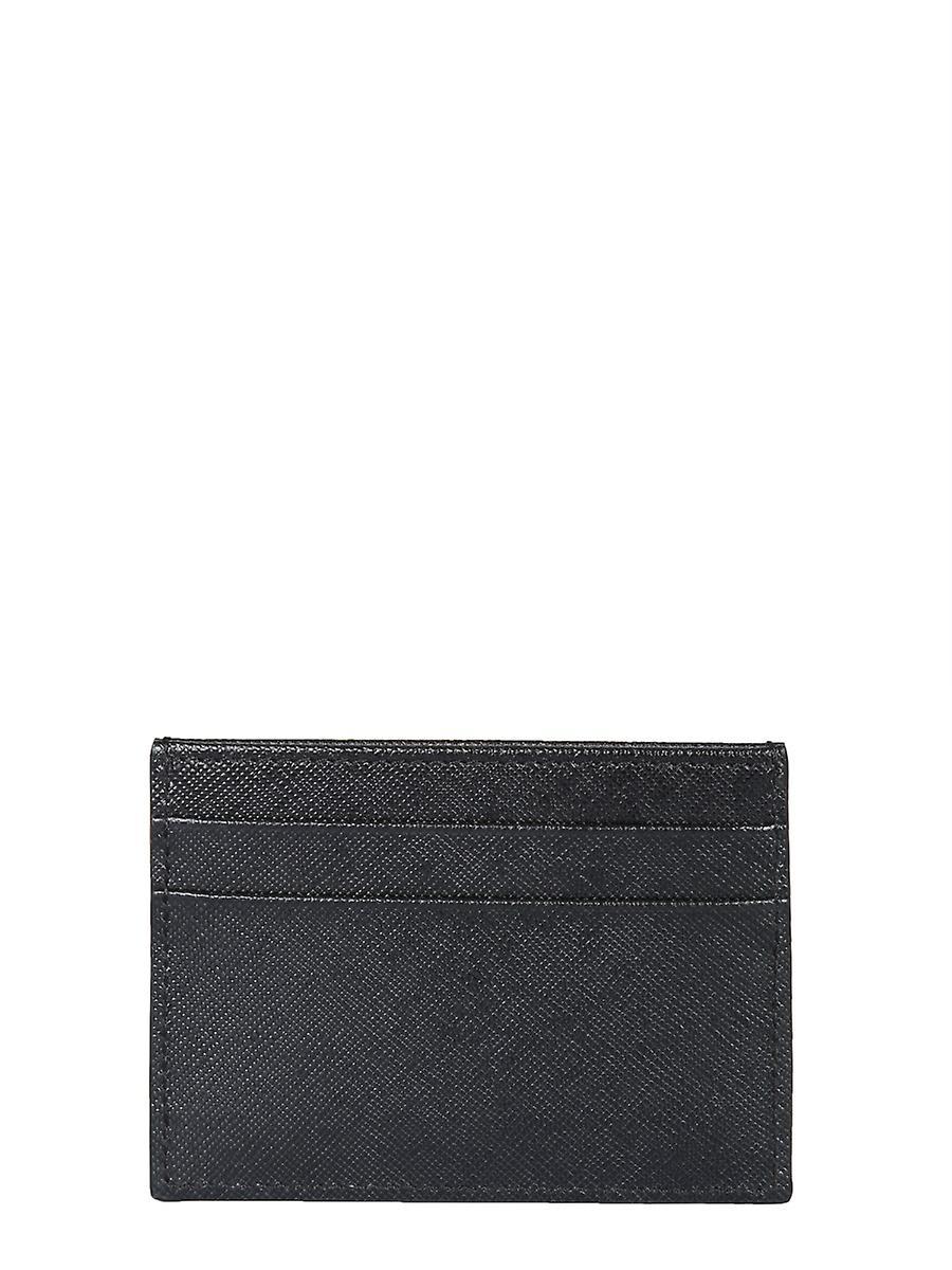 Handtaschen & Brieftaschen Marni Pfmoq04u07lv520z360n Women's Black Leather Card Holder