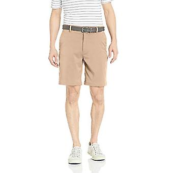 Essentials Men's Standard Classic-Fit Stretch Golf Short, Khaki, 40