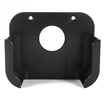Black Square Plastic Media Player Wall Mount Bracket- Stand Holder Case