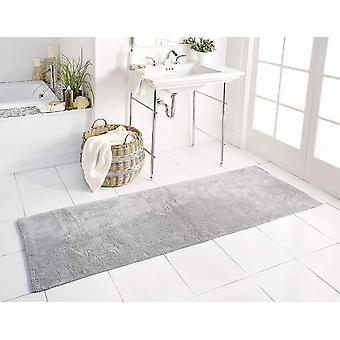 Spura Home Solid Oriental Handmade Long Plush Bath Runner 2x6 for Hallway