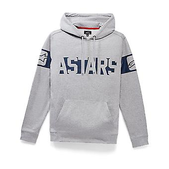 Alpinestars Broadband Pullover Hoody in Grey Heather