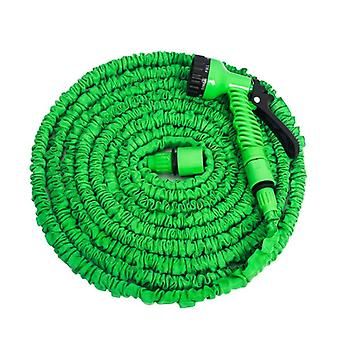 25ft-100ft Expandable , Flexible Garden Hose Water Pipe With Spray Gun To