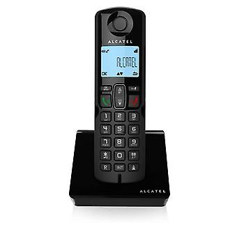Trådløs telefon Alcatel S250 DECT Sort