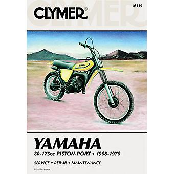 Clymer M410 Manual for Yamaha 80-175CC Piston Port