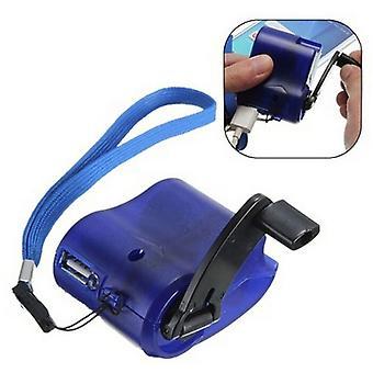 ハンド巻き緊急充電器、MP3 Mp4モバイル用USBハンドマニュアルダイナモ