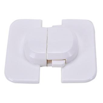 1pcs Home Refrigerator Fridge Freezer Door Lock Latch Catch Toddler Kids Child Cabinet Locks (white)
