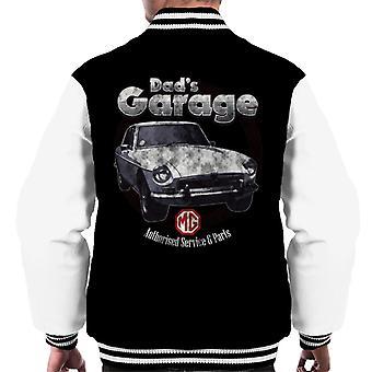 MG Dads Garage British Motor Heritage Men's Varsity Takki