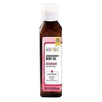 Aura Cacia Bath/Massage Oil, Comforting Geranium