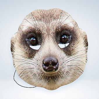 Mask-arade Meerkat Party Face Mask