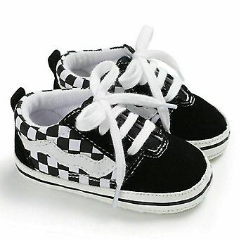 Infant Kids Summer Canvas Sneakers Baby Soft Sole Crib Shoes