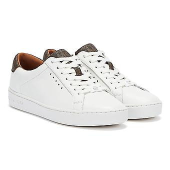 Michael Kors Irving Womens White / Brown Trainers