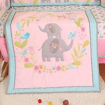 Drenge Universal Baby Quilt Cartoon Print Baby Quilt Crib Tæpper Baby Items